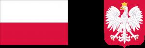 Flaga i godło polskie